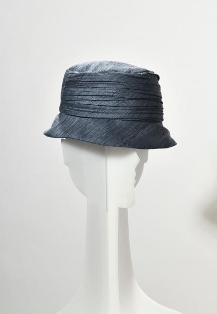 Stephen Jones Millinery Spring Summer 2020 a pleated hat