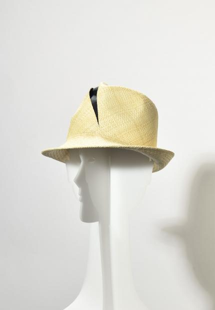 Stephen Jones Millinery Spring Summer 2020 A cut crown Trilby