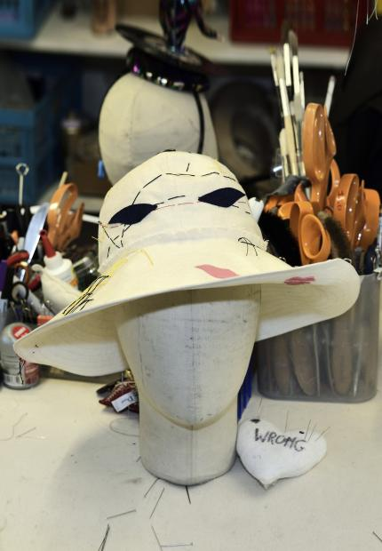 Stephen Jones Millinery Spring Summer 2018 Hats Poupee calico sunhat