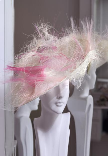 Stephen Jones Millinery Spring Summer 2018 Hats Stunning large asymmetric fringe hat