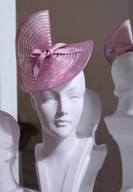 Stephen Jones Millinery Spring Summer 2018 Hats Love It! stitched circular headdress