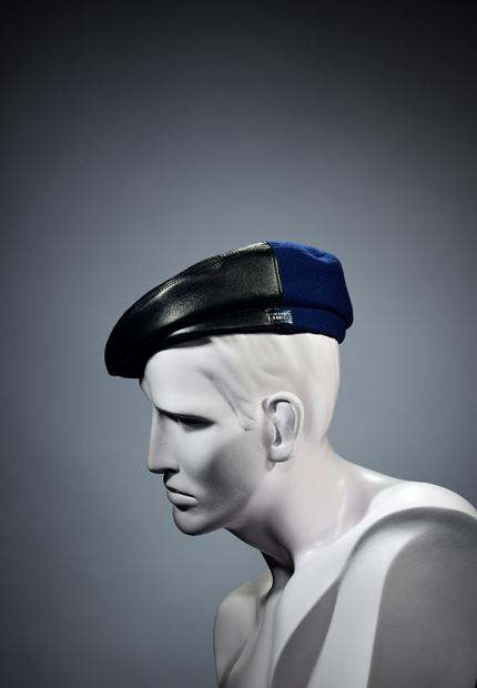 Stephen Jones Millinery Winter mens beret