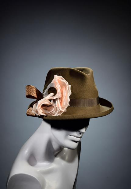 Stephen Jones Millinery Winter mens trilby
