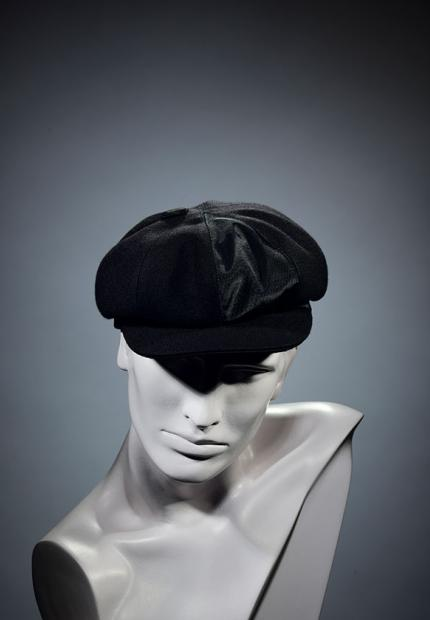 Stephen Jones Millinery Winter mens flat cap peaky blinders