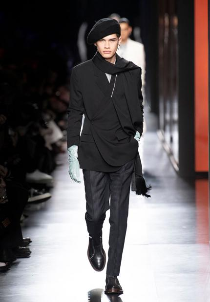 Stephen Jones Kim Jones Dior Man Autumn Winter 2020